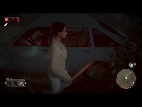 Friday the 13 player tries to run me over and the tables turns