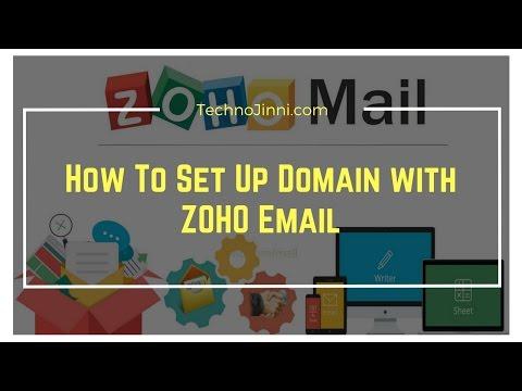 How To Set Up Free Custom Domain Based Email with ZOHO Email