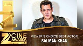 Salman Khan for Bajrangi Bhaijaan | Viewer's Choice Best Actor Male | Zee Cine Awards 2016