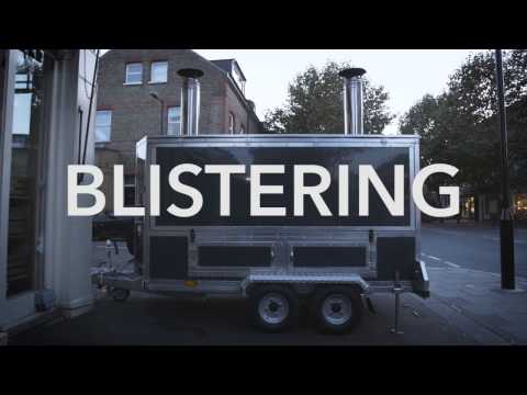 Blistering Woodfired Pizza Oven Trailer