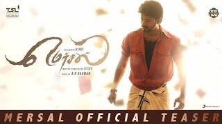 Mersal-Official Tamil Teaser | Vijay | Atlee | A R Rahman | Sony Music India