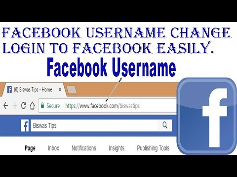 How to Change Facebook Username | Change custom url for facebook