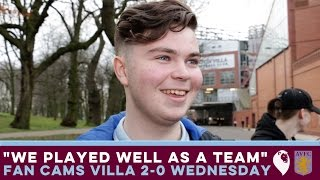 "FAN CAMS | Villa 2-0 Sheffield Wednesday | ""WE PLAYED WELL AS A TEAM"""