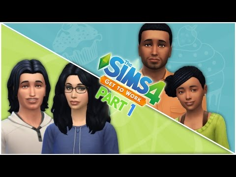 Let's Play the Sims 4 Get to Work (Part 1) A Dream Come True