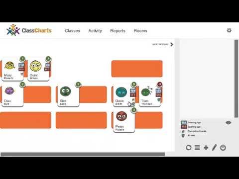 Class seating charts & behavior management