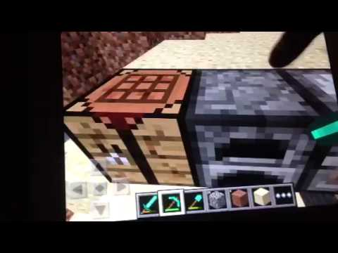 Let's Play Minecraft PE:Episode 4-Basketball Court(Part 2)