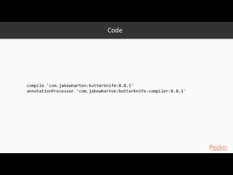 5 Introduction to ButterKnife