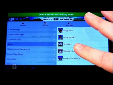 Good e-Reader Android App Store Client