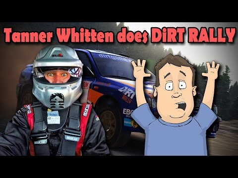 Playing DiRT Rally w/ RedBull GRC Lites Driver Tanner Whitten