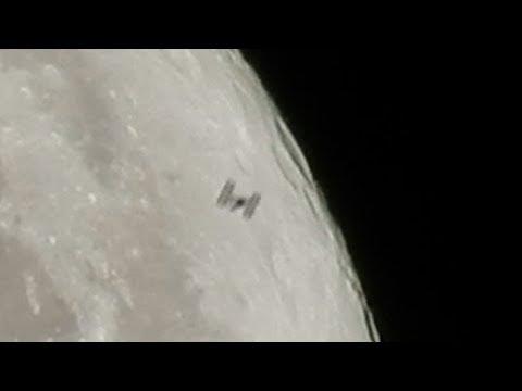 Nikon P900 Captures ISS Lunar Transit