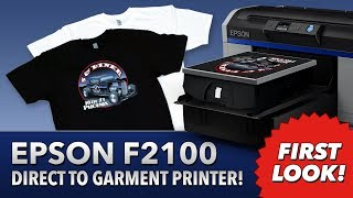 Epson SureColor F2100 Direct To Garment Printer - New - The Most