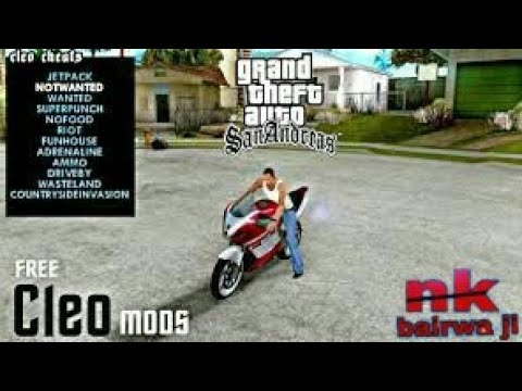 How to install cleo cheats & mods in gta sa android for free (No Root) (Hindi)