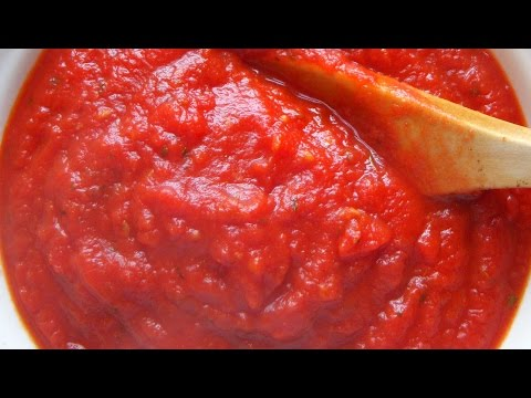 Easy and Delicious Pizza Sauce