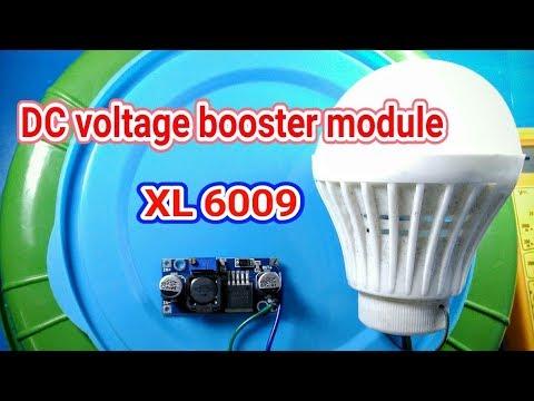 Adjustable Voltage Step-up module|voltage booster | review