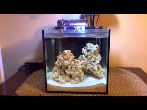 DIY Glass Aquarium Top for a cube aquarium