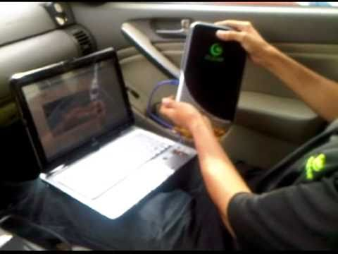 CLEAR 4G Home MODEM installed in CAR