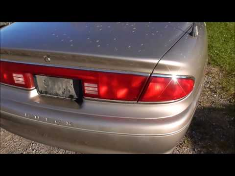 How to take off the tailight assembly on a 1997-2001 Buick Century
