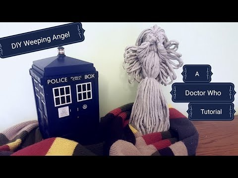 How to Make a Doctor Who Weeping Angel Yarn Doll - DIY Tutorial
