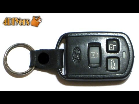 DIY: Hyundai Keyless Remote Battery Replacement & Disassembly