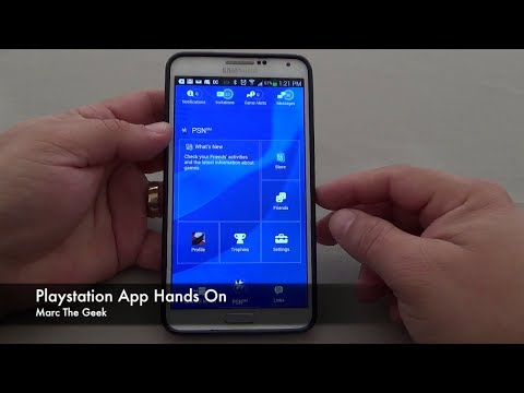 Playstation App on Android Hands On