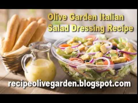 olive garden italian salad dressing recipe
