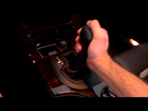 BMW e60/5 series shifter removal