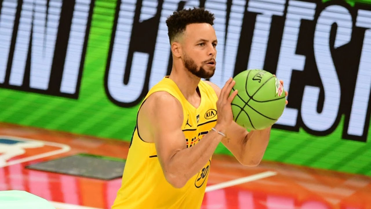 Steph Curry Full Highlights | 2021 NBA 3-Point Contest