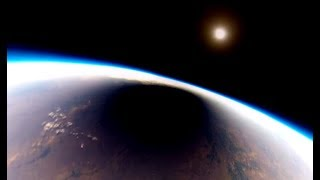 Viewing A Solar Eclipse From Space