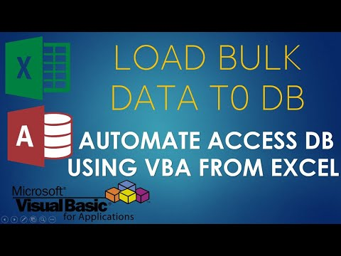 S02E03-Append or Write Data to Access Database using VBA. Part-2