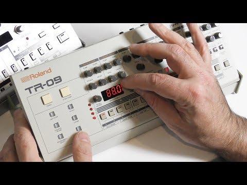 Roland TR-09 - A faithful Reproduction of the Legendary TR-909 Drum Machine