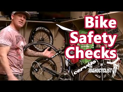 Bike Riding Tips & Instructions, Doing A Bike Safety Check