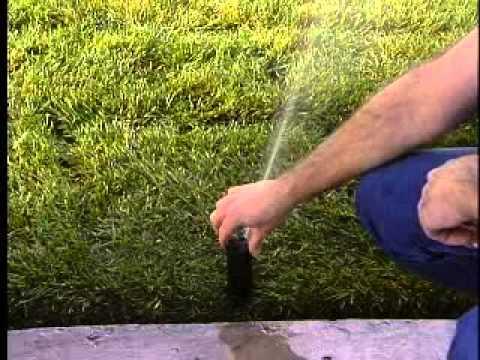 How To Adjust Sprinkler Head Arc - Hunter PGP - JB Irrigation