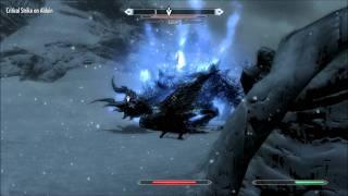 Skyrim Boss Alduin First Fight