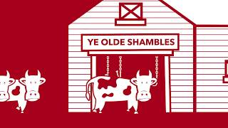 Where does the word 'shambles' come from?