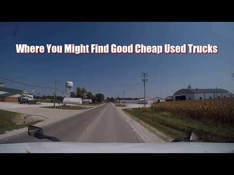 Where You Might Find Good Cheap Used Trucks