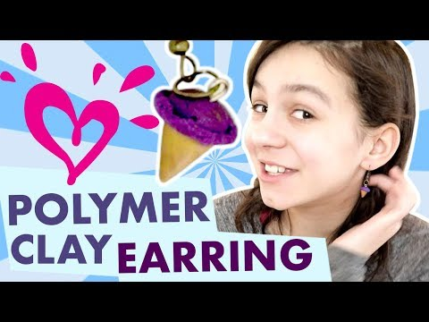 HOW TO MAKE POLYMER CLAY EARRINGS 💗 JUSTICE