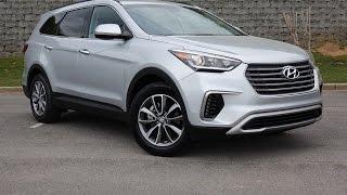 2017 Hyundai Santa Fe Se Suv Walkaround