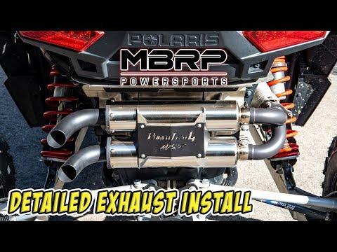 Xxx Mp4 MBRP Powersports Detailed Exhaust Installation Polaris RZR XP Turbo SXS UTV Install Vlog 006 3gp Sex