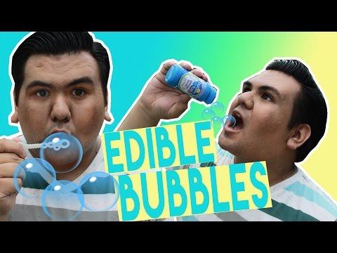 DIY | Edible Bubbles - HOW TO MAKE EDIBLE BUBBLES OUT OF SODA!!!