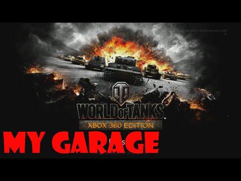 World Of Tanks Xbox 360 - My Garage (March 5th 2015)