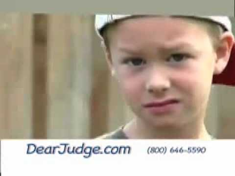 Child Custody, Dear Judge, (Children's Letters To The Judge)
