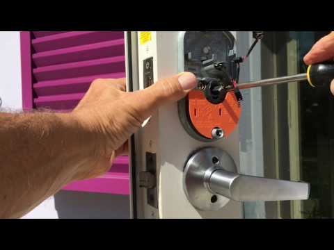 How to install a Schlage Keypad deadbolt Lock