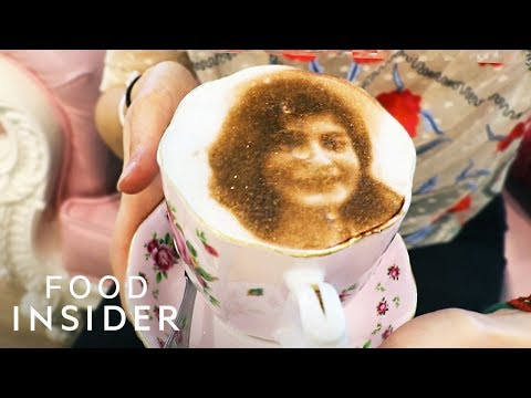 Sip On The Selfieccino — Coffee With Your Face On It