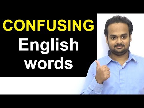 10 COMMONLY CONFUSED Word Pairs in English - May be / Maybe   Every Day / Everyday   Lose / Loose