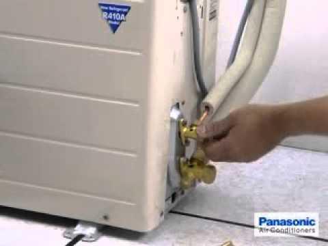 Installation Air conditoner Split Guide's - 07 Panasonic