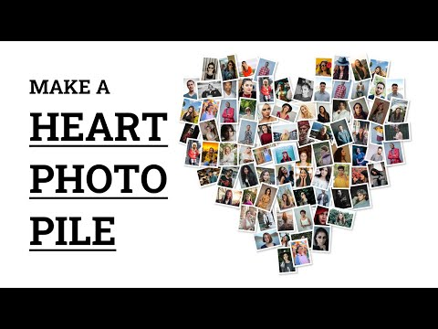 Make Heart Shaped Freeform Collage in 60 Seconds | FigrCollage