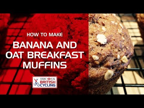 How to make: Banana and oat muffins