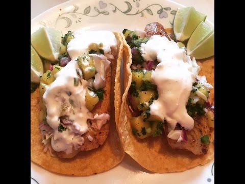 Taco Tuesday - Tilapia Fish Tacos