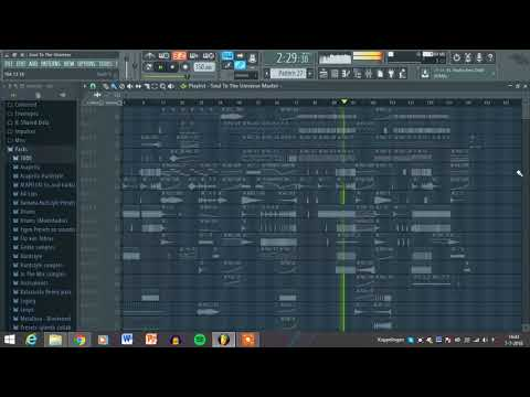 Rik Raben - Soul To The Universe (FL Studio Hardstyle)