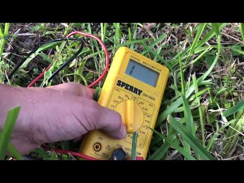 Coaxial Cable ID Using Multimeter